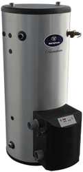 Westinghouse 100 Gallon WGCM100LP199 Stainless Steel, Gas Fired Commercial Water Heater - Liquid Propane