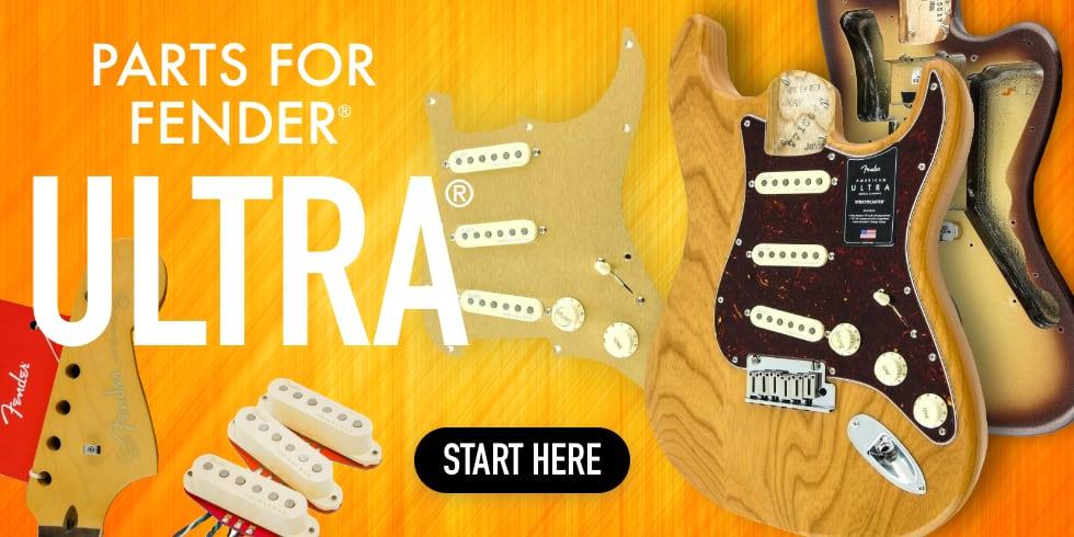 Fender Ultra Guitar Parts
