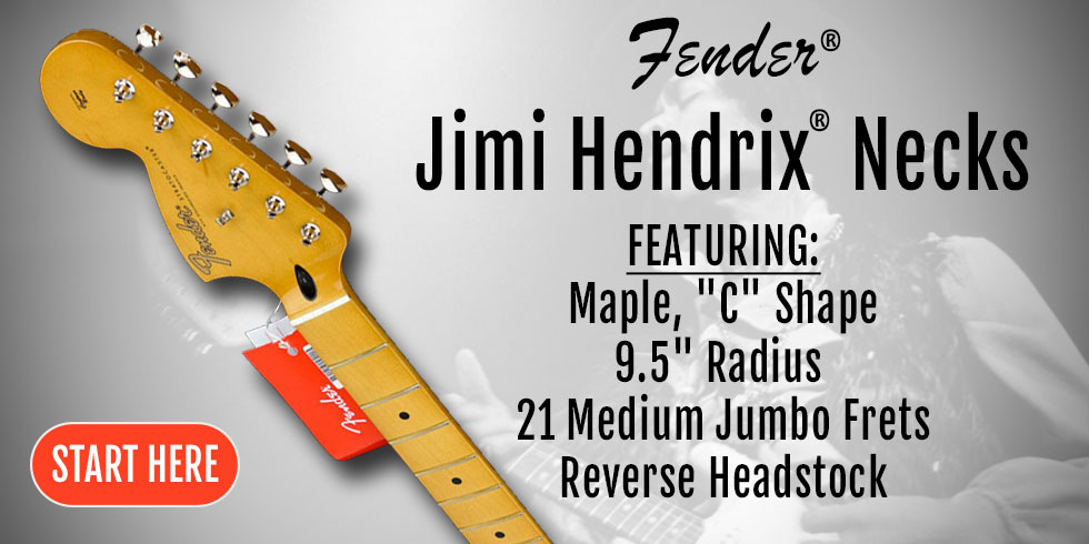 JIMI HENDRIX GUITAR NECK