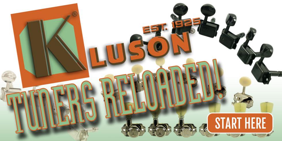 KLUSON GUITAR TUNERS