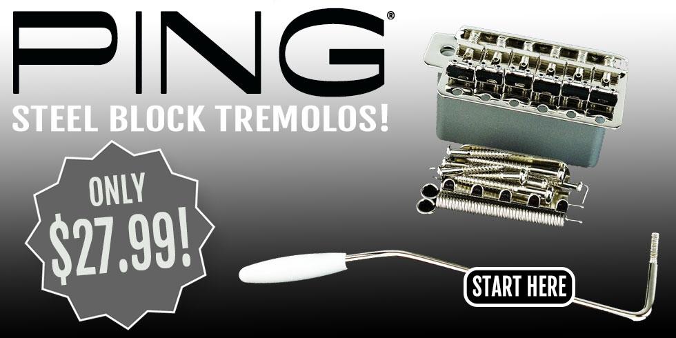 PING STEEL BLOCK TREMOLO