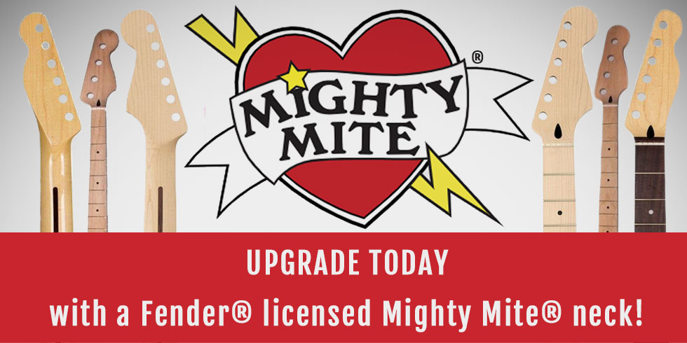 MIGHTY MITE GUITAR REPLACEMENT NECK