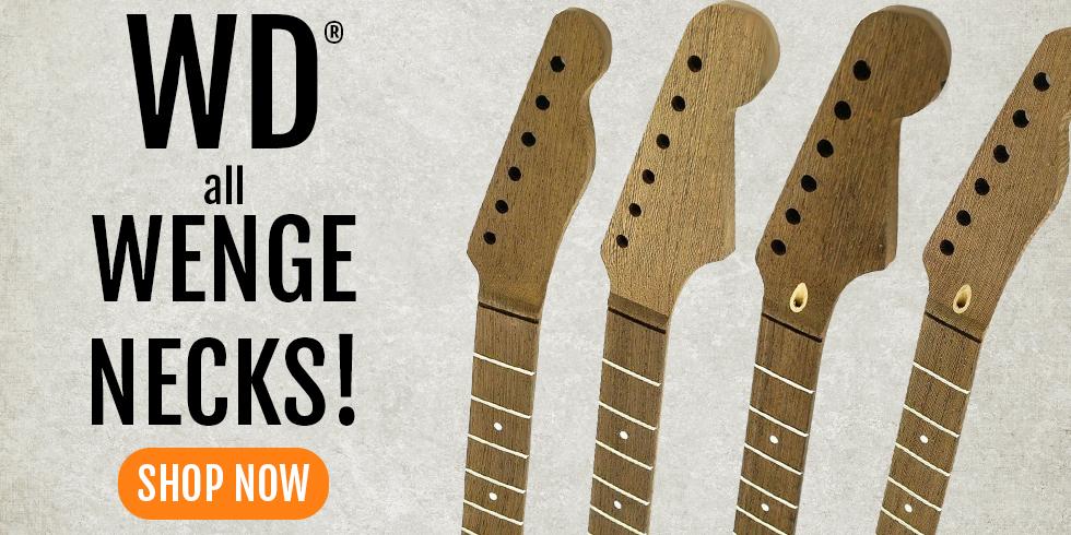 WD Wenge Guitar Neck