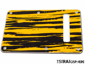 *NEW Tiger Stripe TREMOLO BACK COVER for Fender Stratocaster Strat 3 Ply