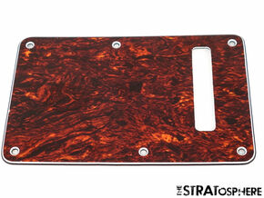 *NEW Red Tortoise TREMOLO BACK COVER for Fender Stratocaster Strat 3 Ply