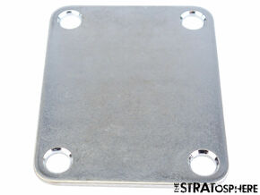 NEW NECK PLATE for Fender Stratocaster Strat Tele Aged Chrome STR-NP-CA
