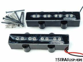 *NEW Wilkinson WOJB Ceramic for Fender Jazz Bass PICKUP SET Pickups