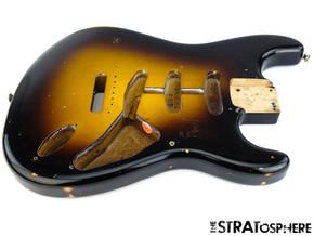 Fender USA Custom Shop Ancho Poblano  Relic Stratocaster BODY Strat 2TS Sunburst