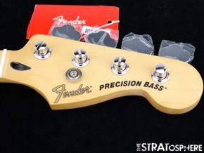 "Fender Deluxe Precision P BASS Special NECK + TUNERS 12"" Radius C Maple"
