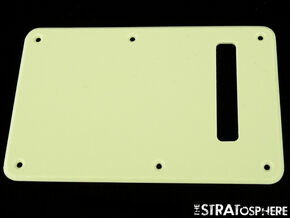 *NEW Mint Green TREMOLO BACK COVER for Fender Standard Stratocaster Strat 1 Ply
