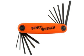NEW Bench Wrench Tech Tool for Electric Guitar & Bass Screw Drivers Hex Wrenches