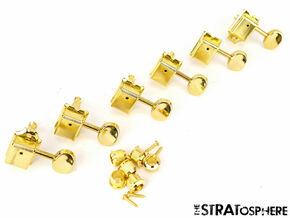 * NEW Vintage Style TUNERS for Fender Stratocaster Strat Telecaster Tele Gold