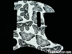 *NEW Telecaster PICKGUARD for Fender USA Standard Tele 8 Hole Butterfly Print