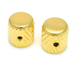NEW Gold Heavy Knurl Barrel CONTROL KNOBS for Fender Telecaster Tele MK-0112-002