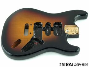 NEW Fender American Standard Stratocaster Strat REPLACEMENT BODY 3TS 00792836000