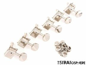 Fender Noventa Strat Tele TUNERS Tuning Pegs for Stratocaster Telecaster!