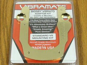 NEW Vibramate V5 Gold Les Paul SG Mounting Kit Bigsby B5 for Gibson TP-3740-002