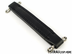 *NEW Vintage Black Leather Style Amplifier HANDLE for Fender Amps Amp