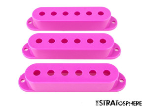 *NEW PICKUP COVERS for Fender Standard Stratocaster Strat Guitar Parts Purple