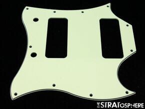 *NEW Mint Green PICKGUARD for USA Gibson SG *Special* P-90s Guitar 3 Ply 11 Hole