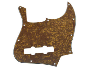 * NEW Gold Pearloid PICKGUARD for Fender Jazz Bass 3 Ply Standard 10 Hole