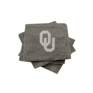 Oklahoma Slate Coasters (set of 4)