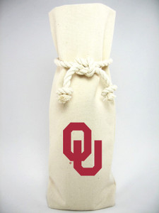 Oklahoma Canvas Bottle Tote