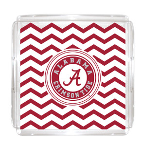 Alabama Lucite Tray 12x12
