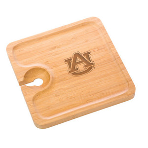 Auburn Bamboo Party Plate