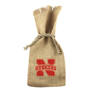 Nebraska 1-Bottle Tote