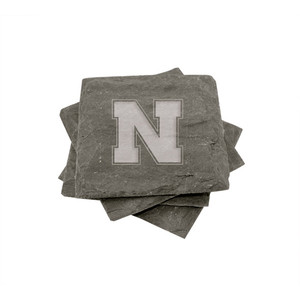 Nebraska Slate Coasters (set of 4)