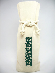 Baylor Canvas Bottle Tote