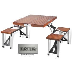 Baylor Folding Picnic Table for 4