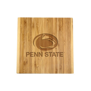 Penn State Bamboo Cheeseboard & Knife Set