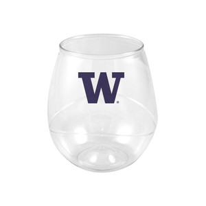 Washington 16oz Plastic Beverage (set of 4)