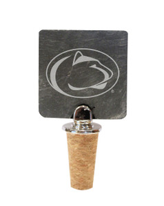 Penn State Slate Bottle Stopper