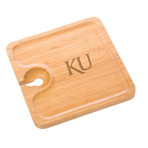 Kansas Bamboo Party Plate