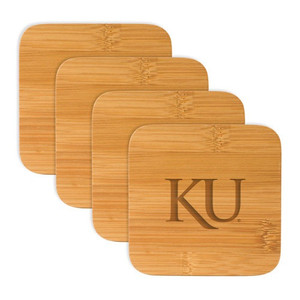 Kansas Bamboo Coasters
