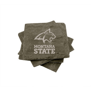 Montana State Slate Coasters (set of 4)
