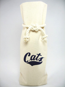 Montana State Canvas Bottle Tote