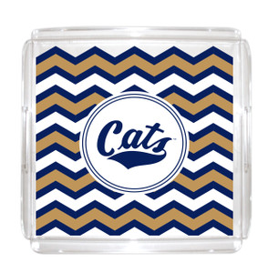 Montana State Lucite Tray 12x12