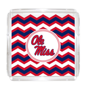 Mississippi Lucite Tray 12x12