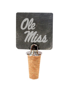 Mississippi Slate Bottle Stopper
