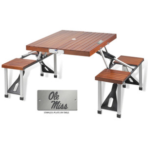 Mississippi Folding Picnic Table for 4