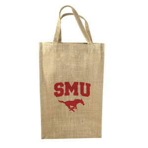 Southern Methodist 2-Bottle Tote
