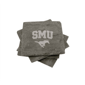 Southern Methodist Slate Coasters (set of 4)