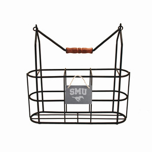 Southern Methodist Vintage Bottle Carrier