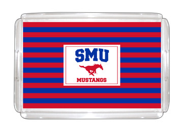 Southern Methodist Lucite Tray 11x17