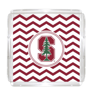 Stanford Lucite Tray 12x12