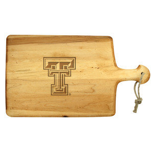 Texas Tech Artisan Paddle